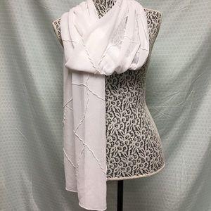 Sheer scarf/wrap